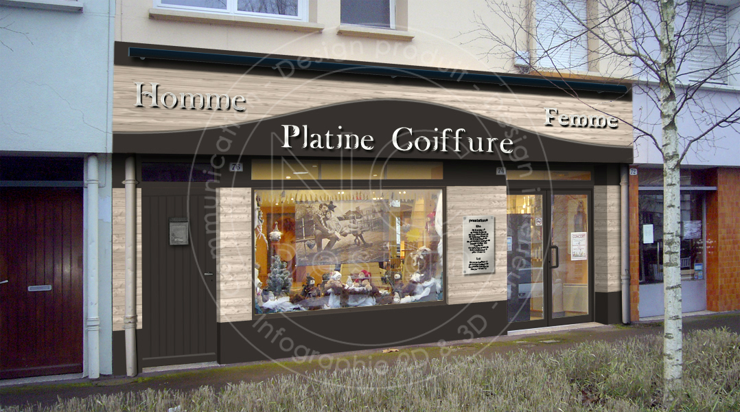 ncdesign platine coiffure designer magasin design d 39 espace magasin salon de coiffure. Black Bedroom Furniture Sets. Home Design Ideas