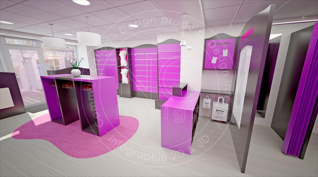 Ncdesign lingerie espiegle nicolas crepieux designer for Interieur longere