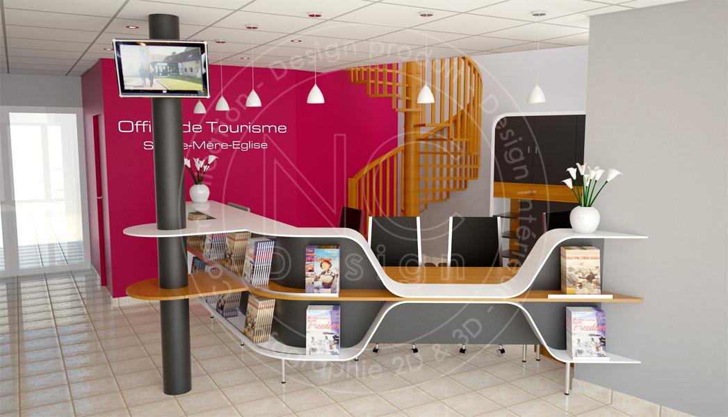Ncdesign office de tourisme nicolas crepieux designer - Office du tourisme sainte mere eglise ...