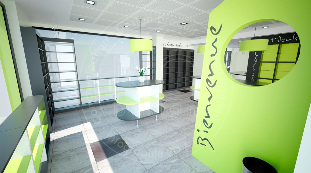 ncdesign pharmacie des tilleuls nicolas crepieux agencement designer design d 39 espace. Black Bedroom Furniture Sets. Home Design Ideas