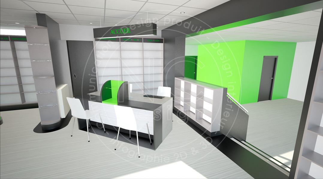 ncdesign pharmacie du bocage nicolas crepieux agencement designer design d 39 espace officine. Black Bedroom Furniture Sets. Home Design Ideas